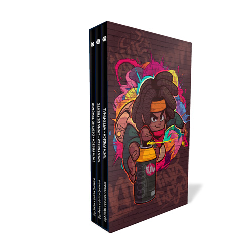 mockup box - Tinta Fresca - A Trilogia Completa - Box da Saga
