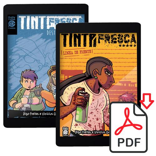 TF12PDF - Combo Tinta Fresca PDF: Destino Traçado e Linha de Frente [DIGITAL]
