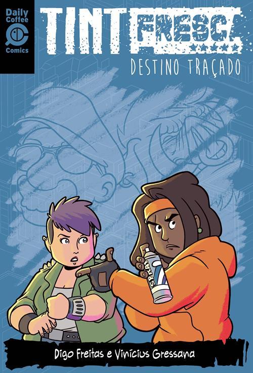 capa DT 1 - Tinta Fresca - A Trilogia Completa - Box da Saga