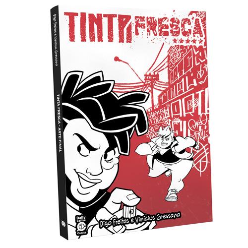 recomp AF - Tinta Fresca - A Trilogia Completa - Box da Saga