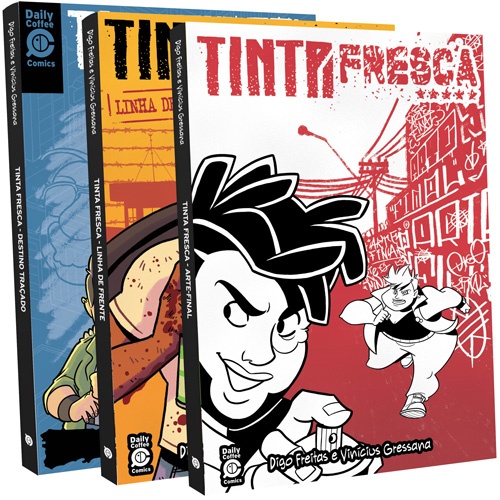 recomp trilogia - Tinta Fresca - A Trilogia Completa - Box da Saga