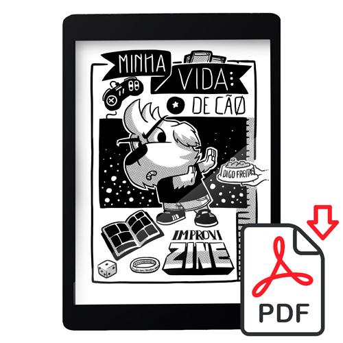 MVDCPDF - Minha Vida de Cão: ImproviZine [DIGITAL]