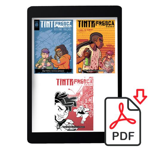 TF123PDF - Trilogia Tinta Fresca PDF (Volumes 1, 2 e 3) [DIGITAL]